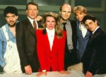 100th episode of Murphy Brown in 1992. Murphy contemplates her ability to be a good mother.